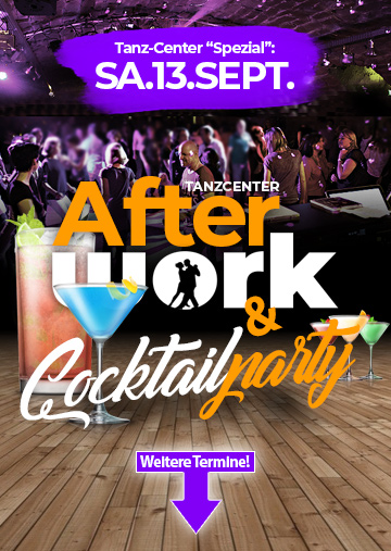Die Afterwork Party im Tanz Center Bocholt