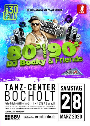 Die Ü30 Party mit DJ Bocky