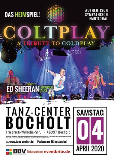Ein Live Tribute Konzert was man in Bocholt in diesem Zusammenspiel noch nicht erleben konnte. Der hohe Wiedererkennungswert verspr